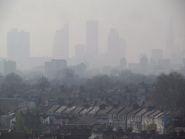 Aer poluat la Londra