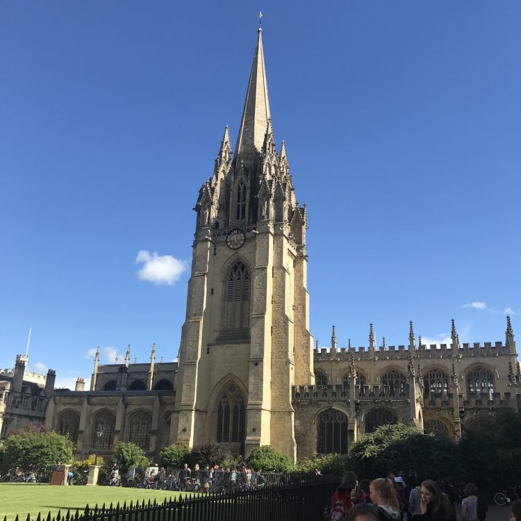 Oxford University Tower