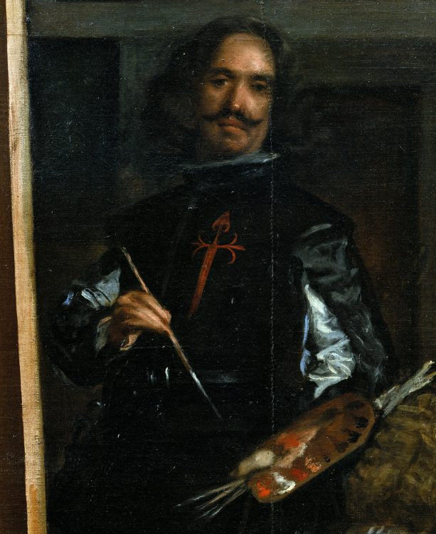 autoportret pictor spaniol