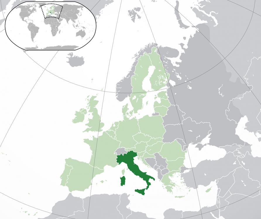 Italia în Europa
