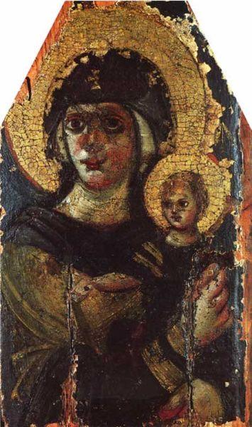 icoană, pictură bizantină din sec al VI-lea