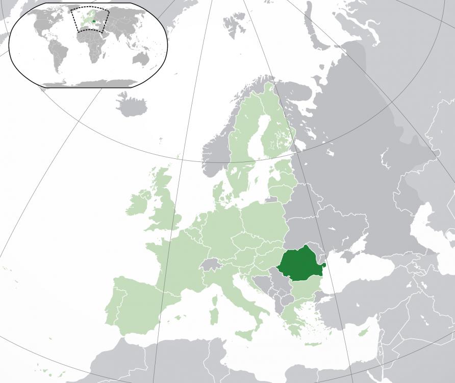 harta patriei în Europa