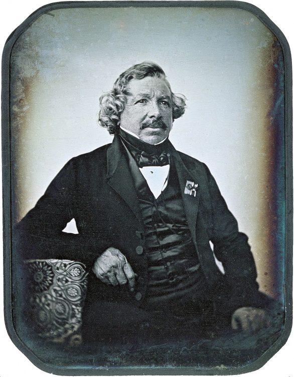 fotograf, artist francez, inventatorul dagherotipiei