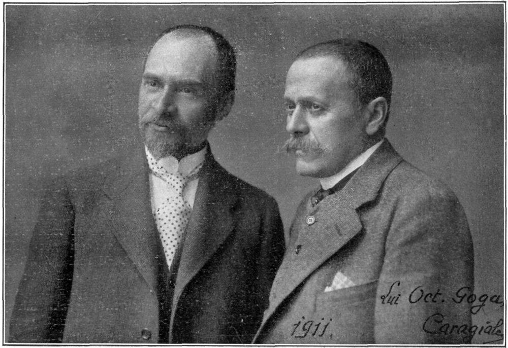 doi scriitori români