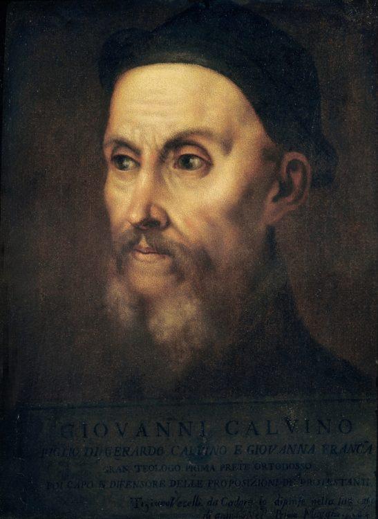 întemeietor protestantism Franţa