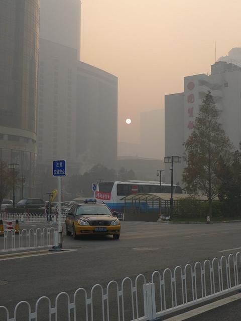 Aer în Beijing