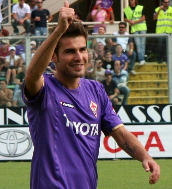 Adrian Mutu, atacant român, Fiorentina, România, golgheter român