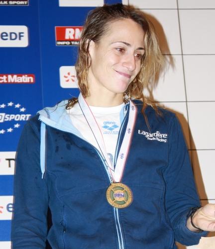 Camelia Potec, înotătătoare română de talie internaţională
