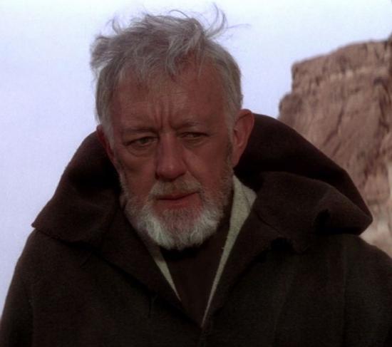 Obi-Wan Kenobi în Star Wars ( O Nouă Speranţă)