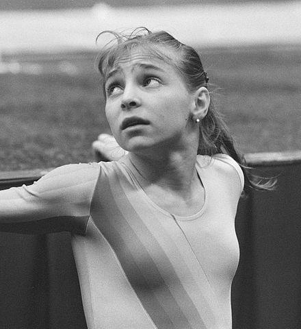 Daniela Silivaş, gimnastă română de talie internaţională, una din cele mai bune gimnaste din istorie