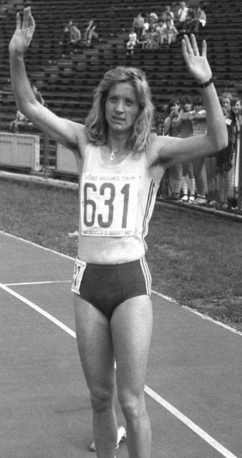 Maricica Puică, alergătoare română de talie internaţională, medaliată olimpică