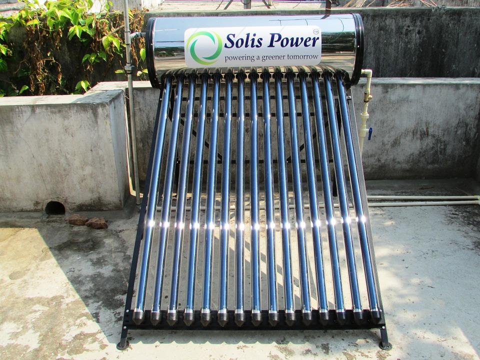 Colector solar cu tuburi vidate
