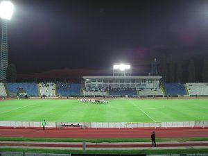 Stadion Ion Oblemenco, vechiul stadion, nocturnă
